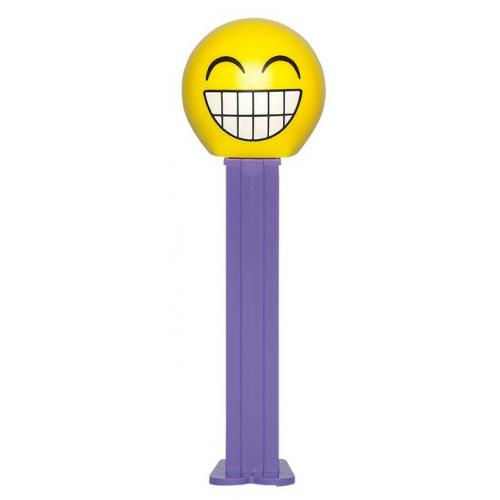 PEZ EMOTICON CHEESING