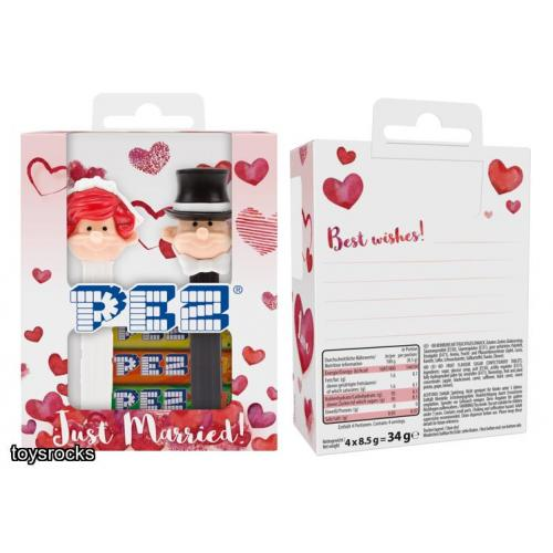 PEZ BRIDE AND GROOM BOX